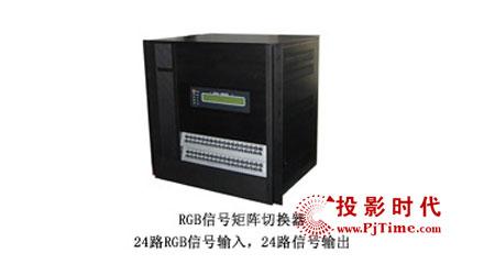 rs232(rs485)、红外遥控、网络控制,接口采用先进的5bnc,19英高清图片