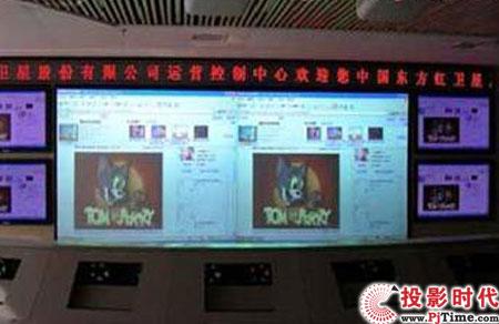 睿联安防大屏幕投影监控显示解决方案