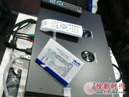 CCBN 2009 顶级影院投影机松下PT-AE3000C亮相华录影院中心