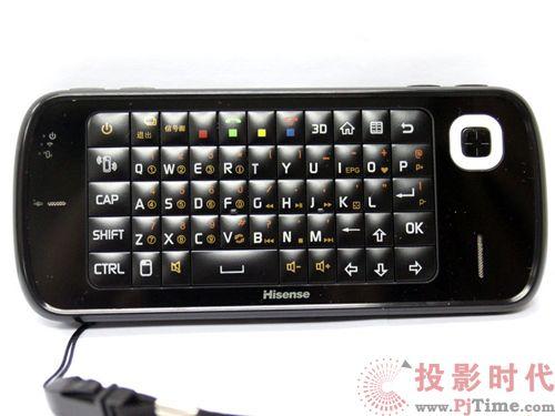 海信LED55XT68G3D智能全键盘遥控器
