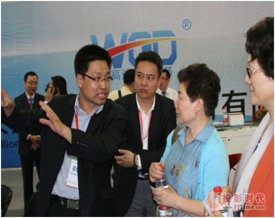 第64届教育装备展示会——GQY展出新风采
