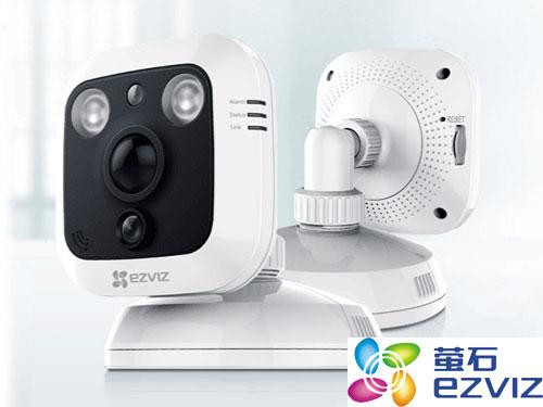 海康威视萤石C1多功能高清网络摄像机出色的外观设计使其赢得了德