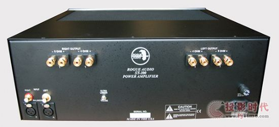 可切换三级管/超线性:Rogue Stereo 100真空管后级