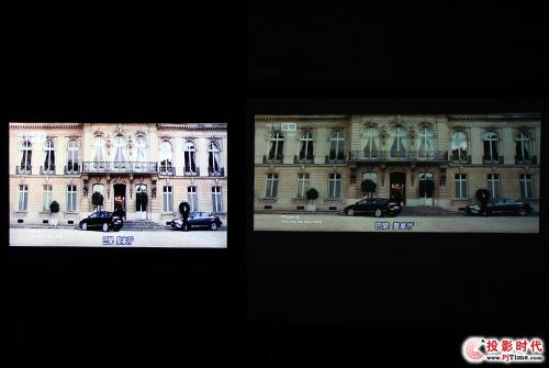 LED投影对比智能电视――奥图码ML1000对比