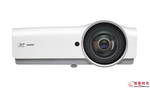 Vivitek(丽讯)DX881ST的短焦镜头1米即可投射80寸大画面