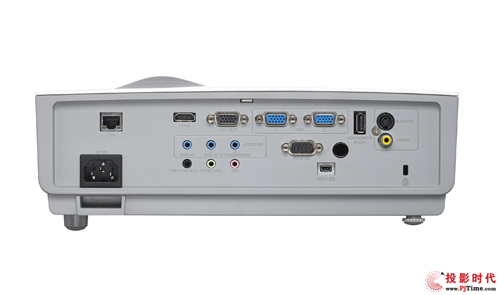 Vivitek(丽讯)DX881ST教育投影机提供了丰富的接口
