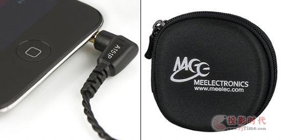 采平衡电驱单体:MEElectronics A151P绕线耳道耳机