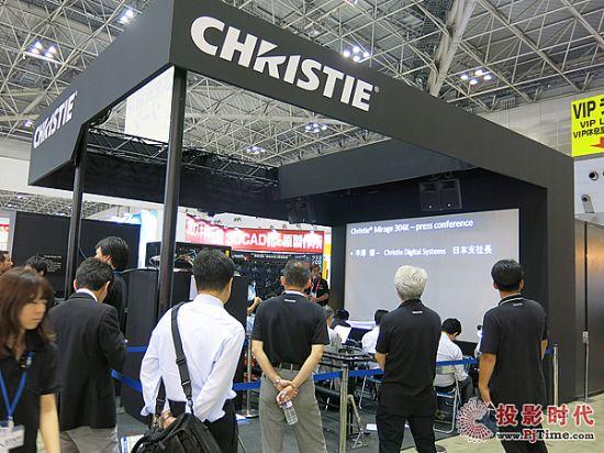 图1-科视Christie携多项高级视觉技术亮相日本工业虚拟现实展