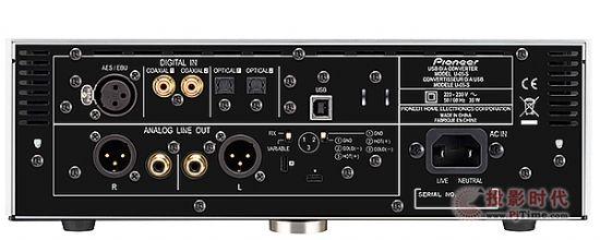 多种平衡输出:Pioneer U-05-S耳机扩大机
