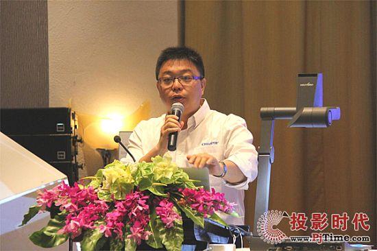 科视中国区销售经理潘泉先生