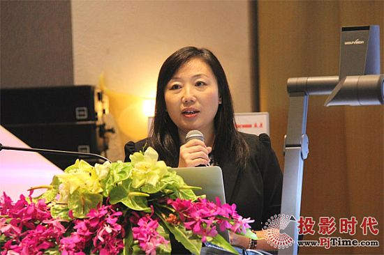 dnp大中华区销售经理吴涛女士