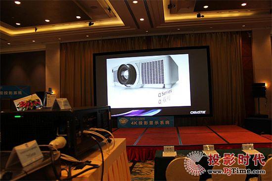 系统一:主演区4K显示系统