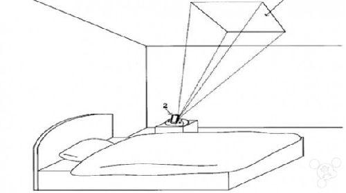 任天堂居然做了睡前专用的投影机