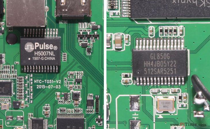云网行CR13 Plus智能盒子试用_拆机内部部件