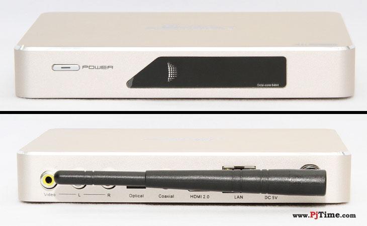 云网行最新旗舰CR18S电视盒子外观及接口