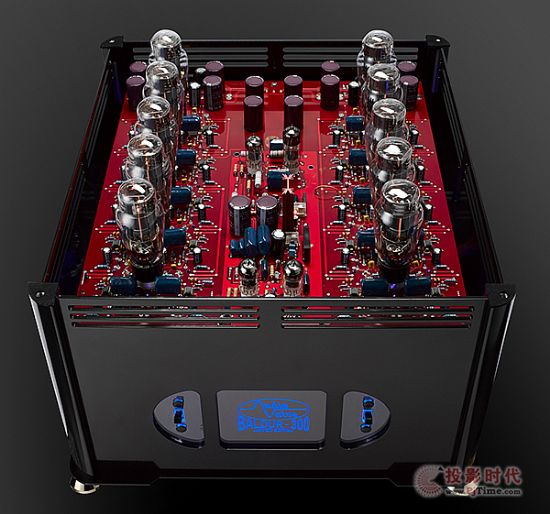 外型小改款:Audio Valve Baldur 300 Plus单声道后级