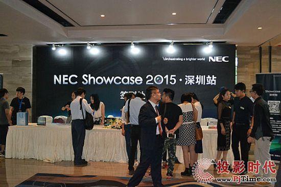 能人科技闪耀NEC showcase2015深圳展