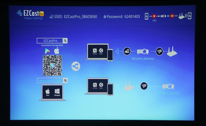 麗訊微投QUMI Q6首測——EZCast功能
