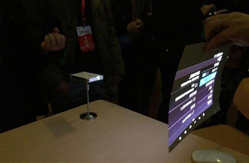 激光应用新突破 MEMS微激光投影智能手机上市
