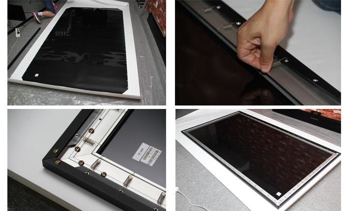 明基i920首测——屏幕组装
