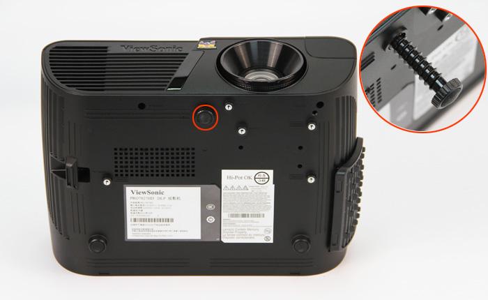 优派Pro7827HD评测——外观