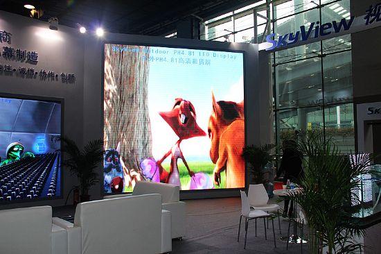 应用创新:LED展示多元化下游市场