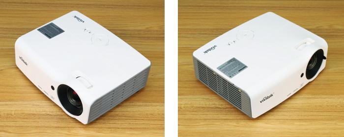 丽讯家用投影机DH559ST评测——外观