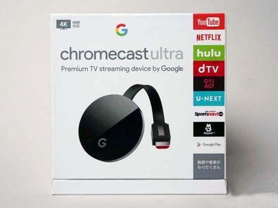 谷歌推出升级版Chromecast Ultra