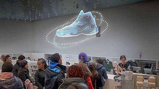 最震撼的商品展示方案?Kino-mo推3D悬浮全息投影
