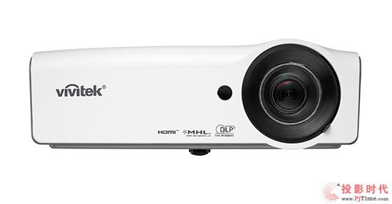Vivitek(丽讯)DH559ST靓丽白色外观