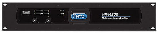 AtlasSound新HPA系列多阻抗功率放大器正式供货