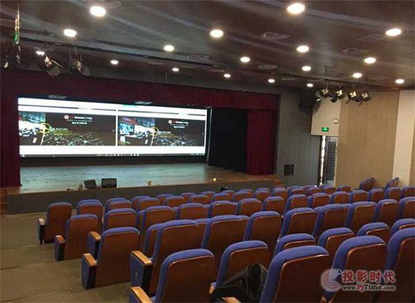 CHARTU长图进驻上海市杨浦职校多功能礼堂