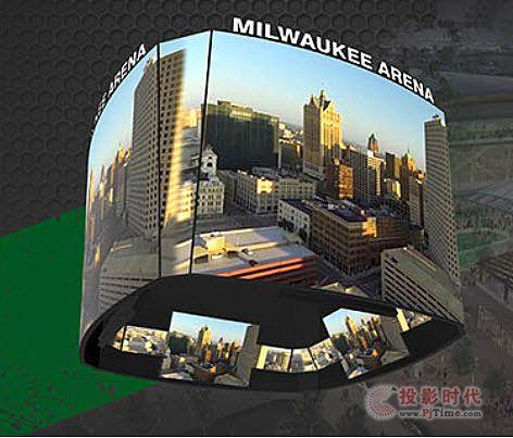 达科将为NBA密尔沃基雄鹿队新球场安装超大型LED视频系统