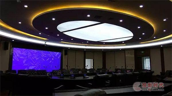 ITAV中控打造中行娄底市中心支行会议室
