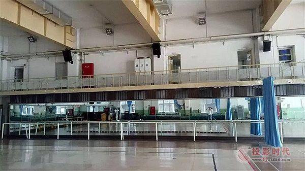 ZOBO卓邦PRS音响打造体育舞蹈馆扩声系统