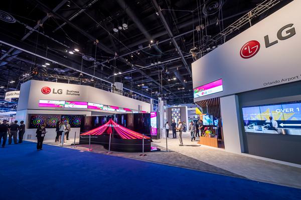 LG超强商用显示亮相InfoComm 2017