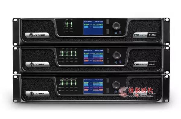 全新高性能 Crown CDi DriveCore系列功放