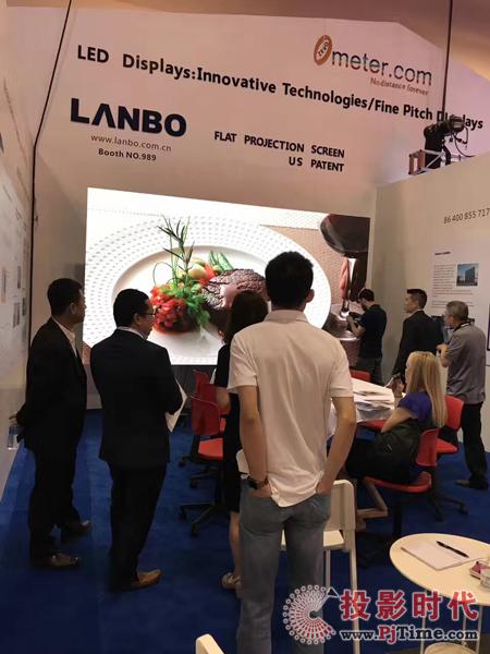 """""""中国创造美国专利""""LANBO平板投影开启征战国际市场"""