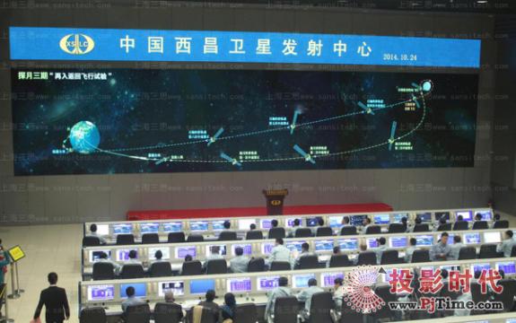 西昌卫星发射中心三思VT1.6小间距LED显示屏
