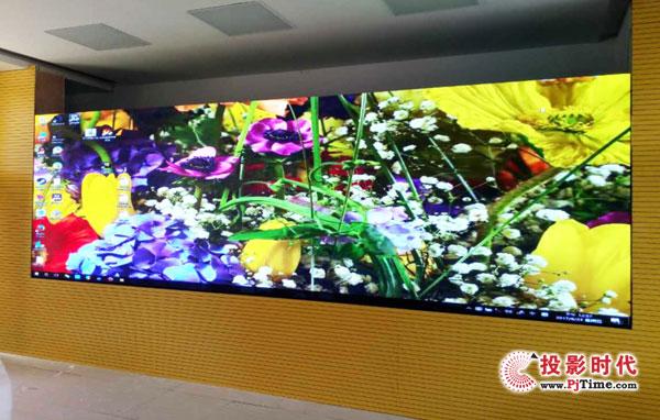 小间距P1.8LED显示屏满足庆云城管指挥可视化需求