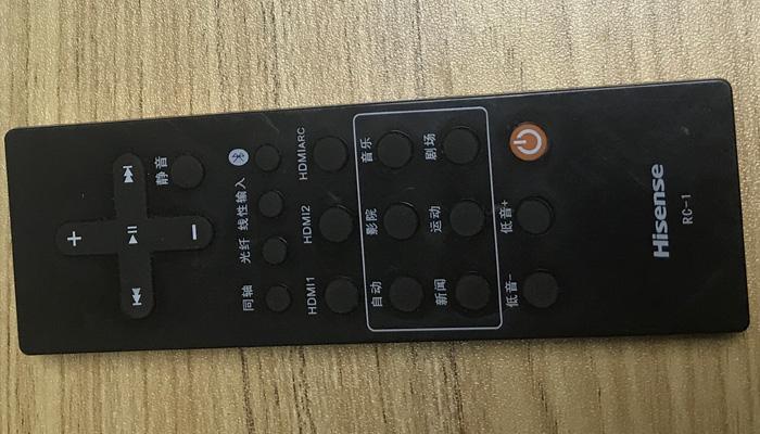 海信4K激光电视详评_细节及接口配置