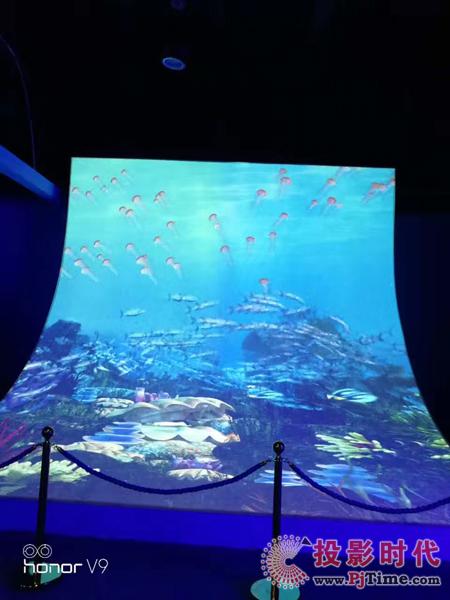沉浸式体验!乐丽投影带你探秘奇趣海洋