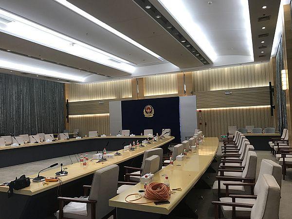 哲闻科技BR-1090全功能手拉手会议系统应用于深圳市警官学院