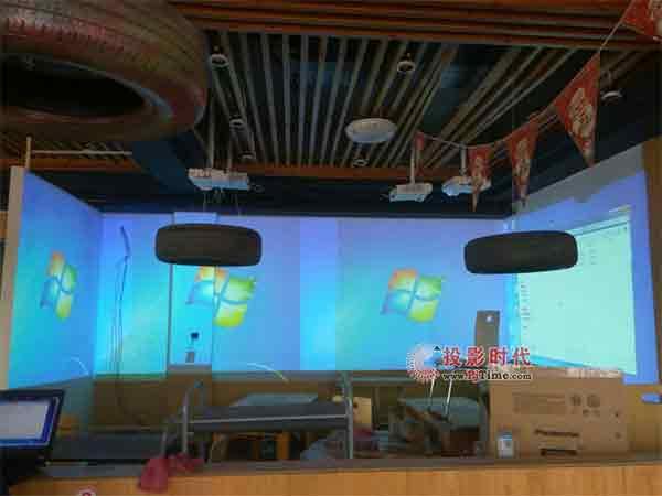 超炫酷!索诺克全息投影方案助力主题餐厅