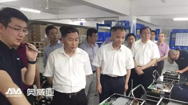 国新-华谊-文发 三方领导参观奥威亚
