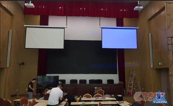 良渚文化遗址报告厅采用了德国AVE AH系列音柱