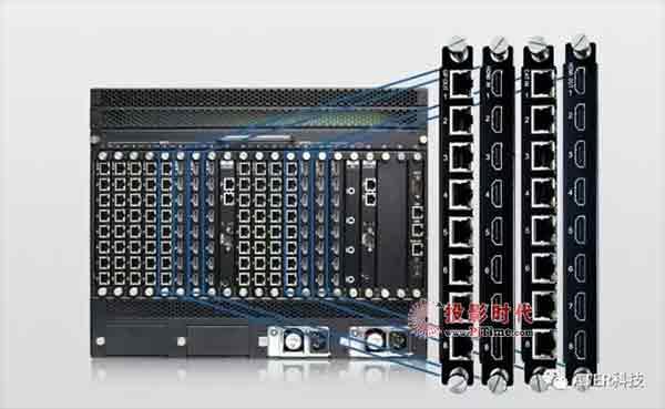DDMALL混合矩阵单卡支持8路信号接入,全面提高性价比