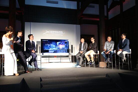 名流齐聚X6 XESS私人影院私品会,TCL以工匠之心彰显大爱无疆