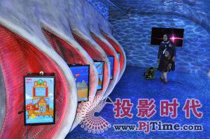 迪拜水族馆联手探索频道打造数字鲨鱼展