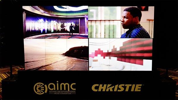 科视Christie在澳大利亚国际电影大会上预展下一代CP4325-RGB真激光电影机